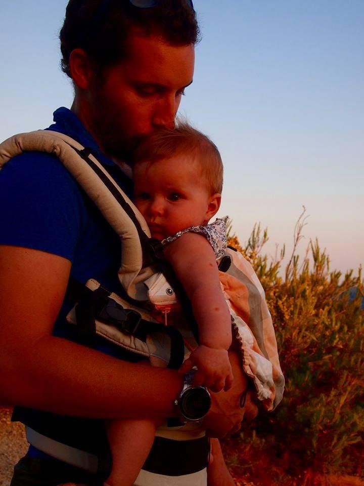 Porte bébé préformé manduca