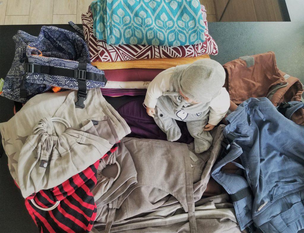 Atelier de portage à Sartrouville, la porte bébéthèque, les différents moyens de portage