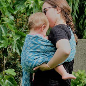 portage bébé asymétrique